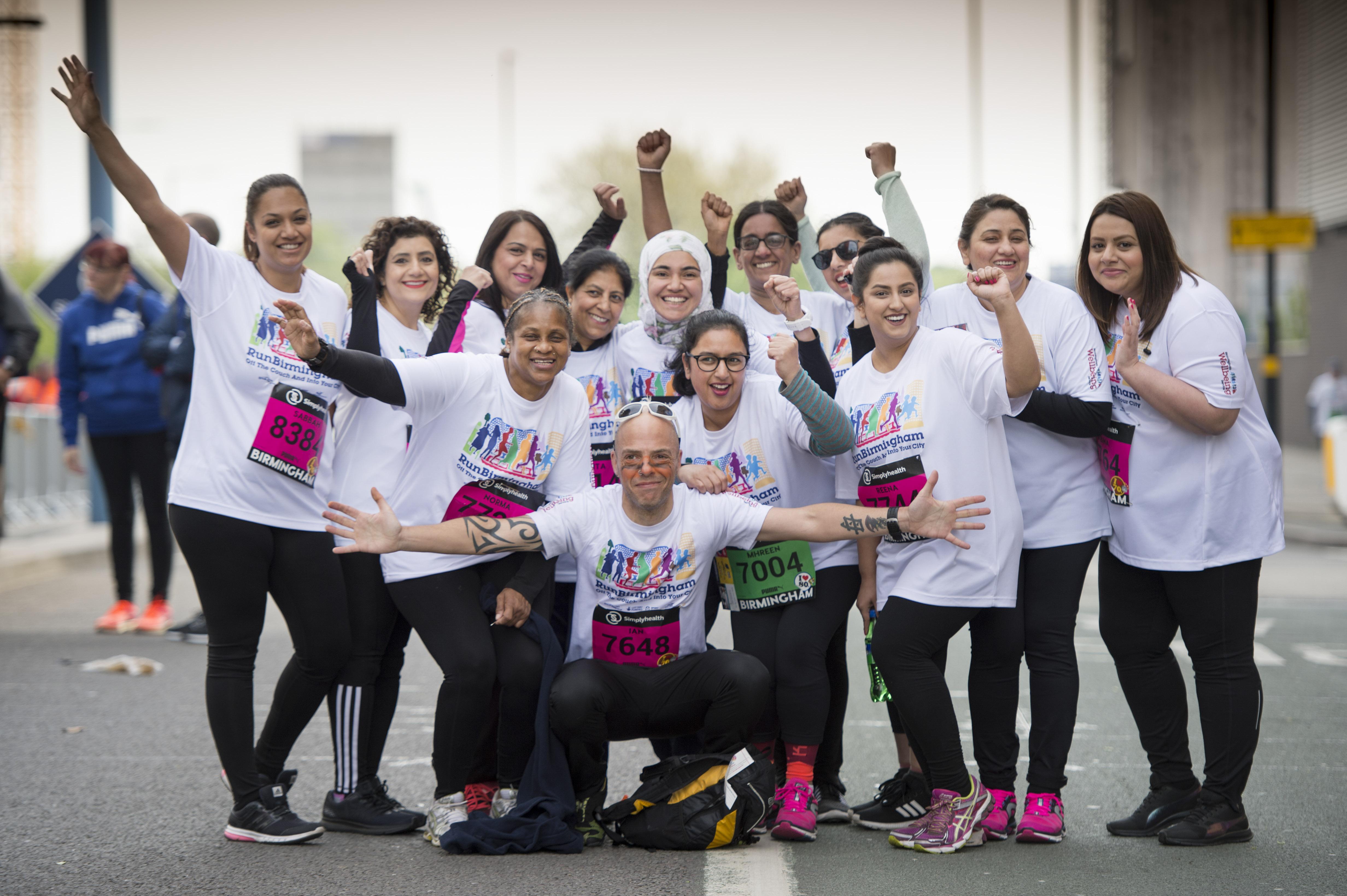 Award-winning Naseem helps cement Great Birmingham Run's diversity
