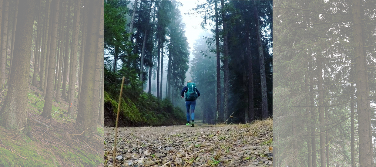 Rosie Watson is running from the UK to Mongolia to raise awareness of the climate crisis