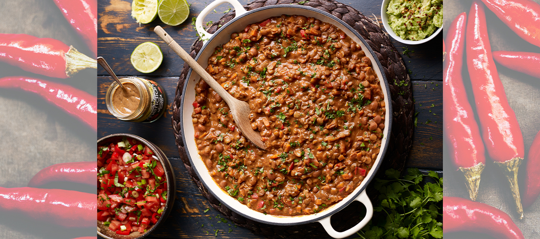 Vegan chilli recipe