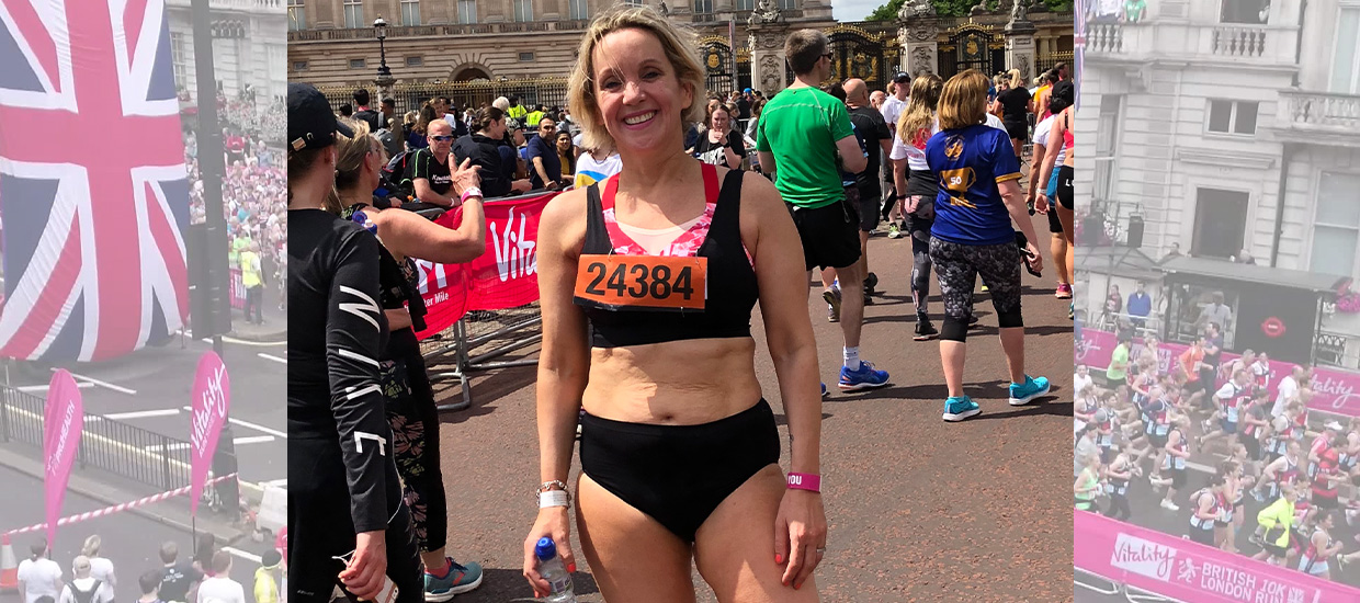 """I feel hungry for challenges"": Emma Campbell on tackling cancer and running in her pants"