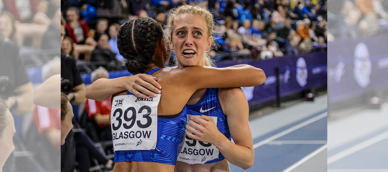 Jemma Reekie breaks British indoor mile record