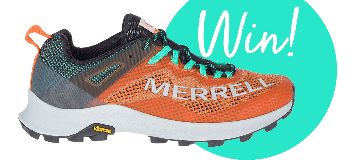 Win a pair of Merrell MTL Long Sky running shoes
