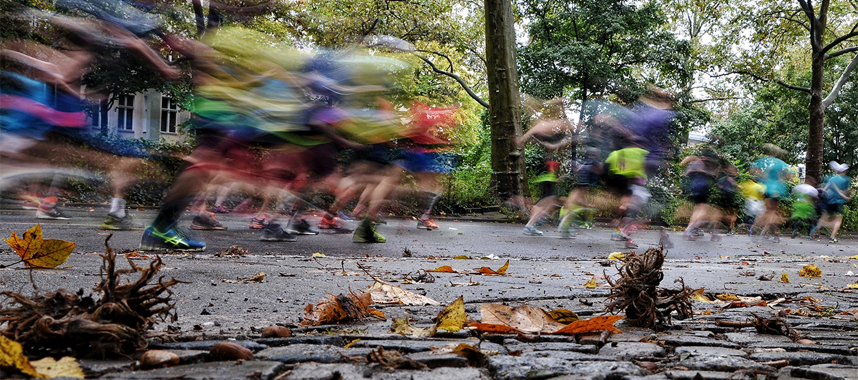 Training for an autumn marathon
