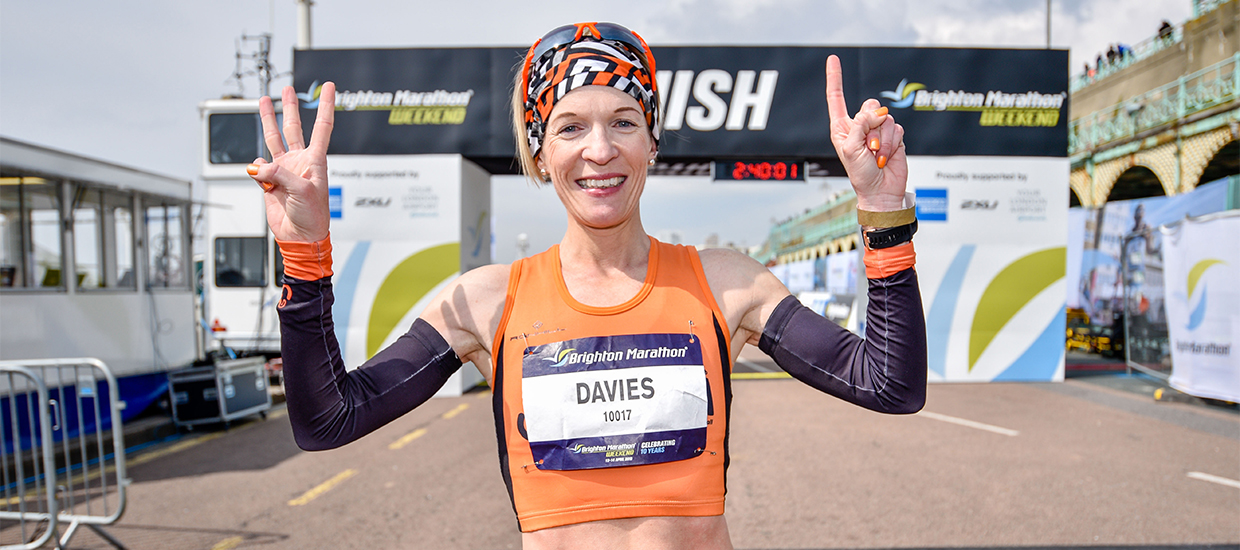 """""""I got into running a lot later in life"""": Helen Davies interview"""