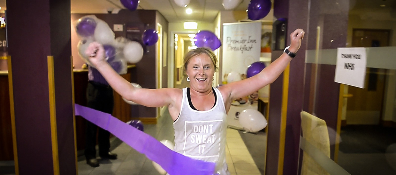 Hero of the week: Louise Casey, hotel marathon runner