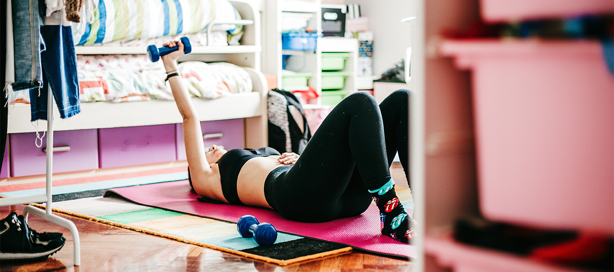 5-minute upper-body workout