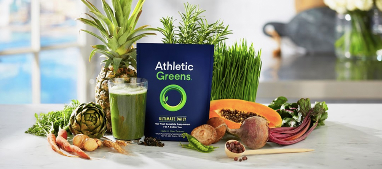 Get your greens with Athletic Greens!