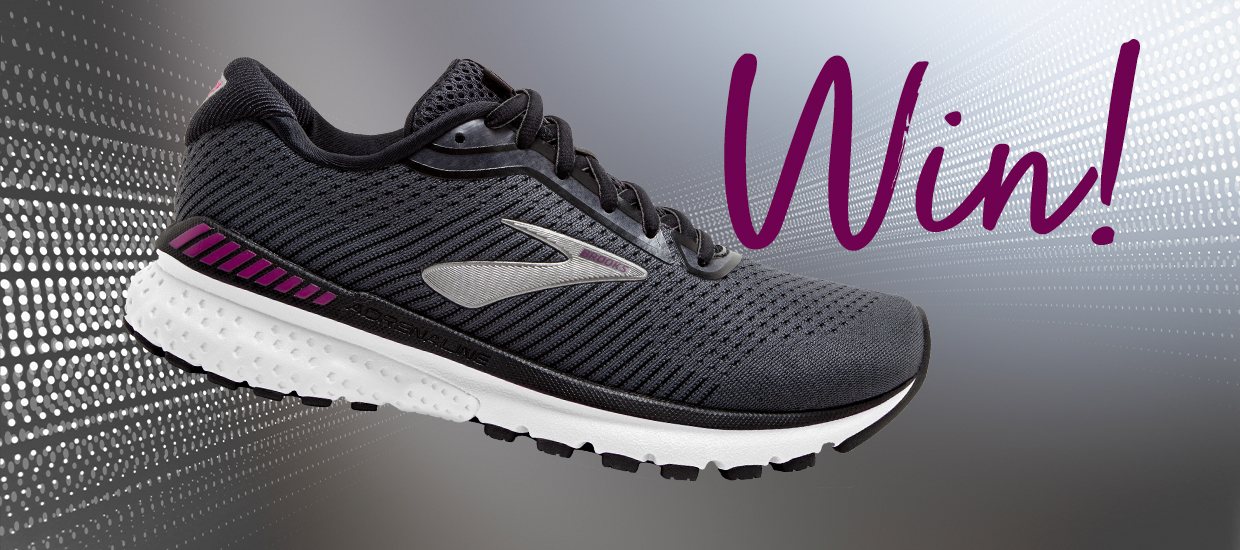 Win a pair of Brooks Adrenaline GTS 20 shoes!