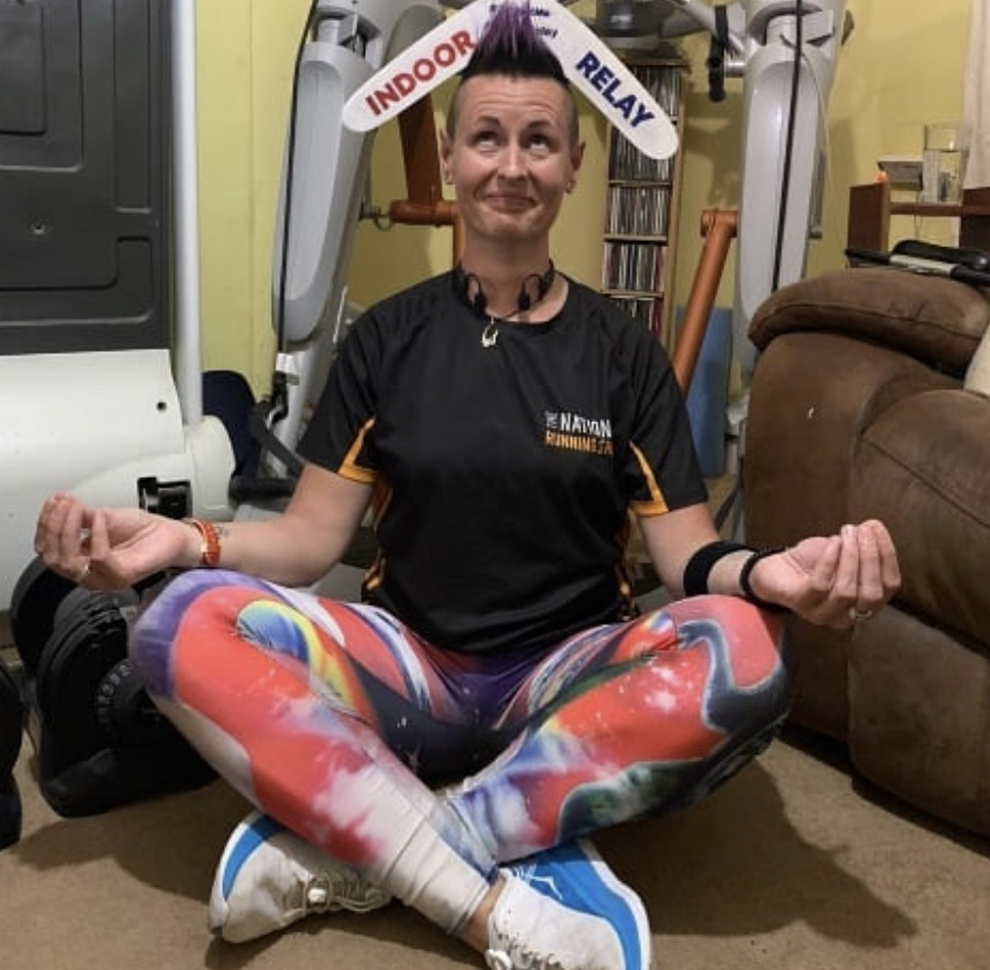 Indoor Relay yoga