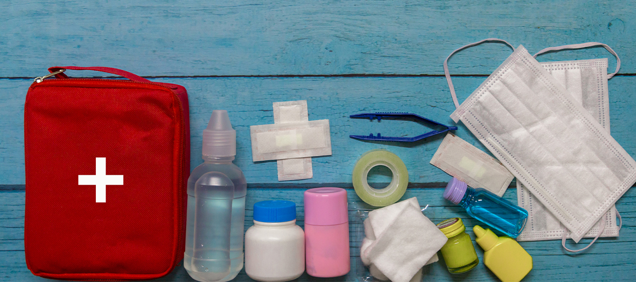 Essential first aid kits for cuts and scrapes