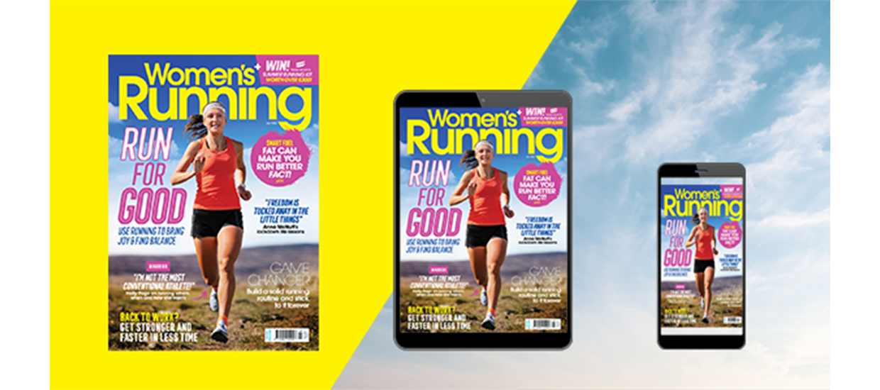 Inside the July issue of Women's Running