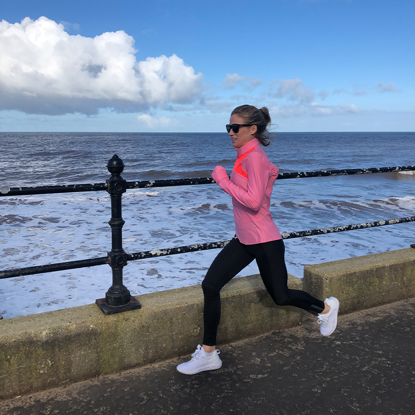 Rachel Stringer: Presenter, ex-international runner and co-host of the Keep Running podcast