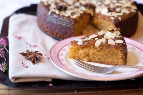 Kate Percy's North African Sticky Orange & Almond Cake
