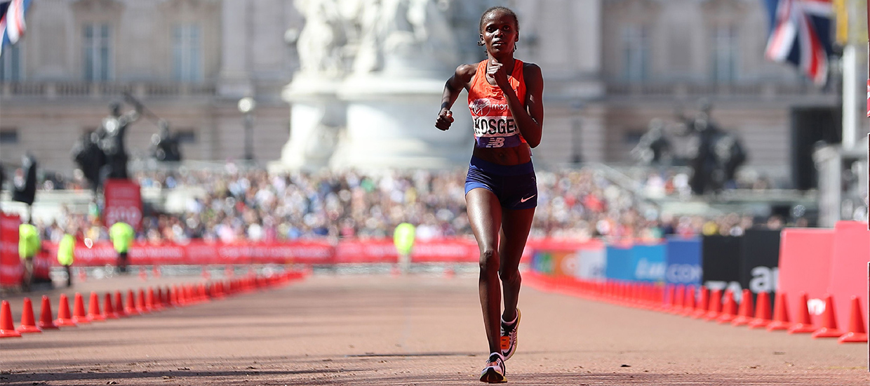 Brigid Kosgei, Steph Twell and Lily Partridge confirmed for the elite-only Virgin Money London Marathon