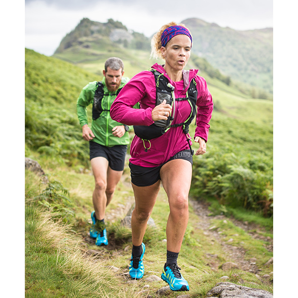 Sabrina hitting the trails as an inov-8 ambassador