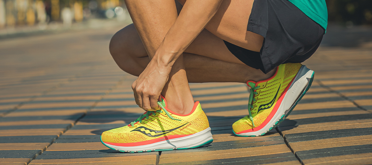 Feel good and go fast with the new Saucony Ride 13