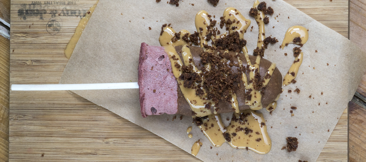 Cool down with these protein ice lollies