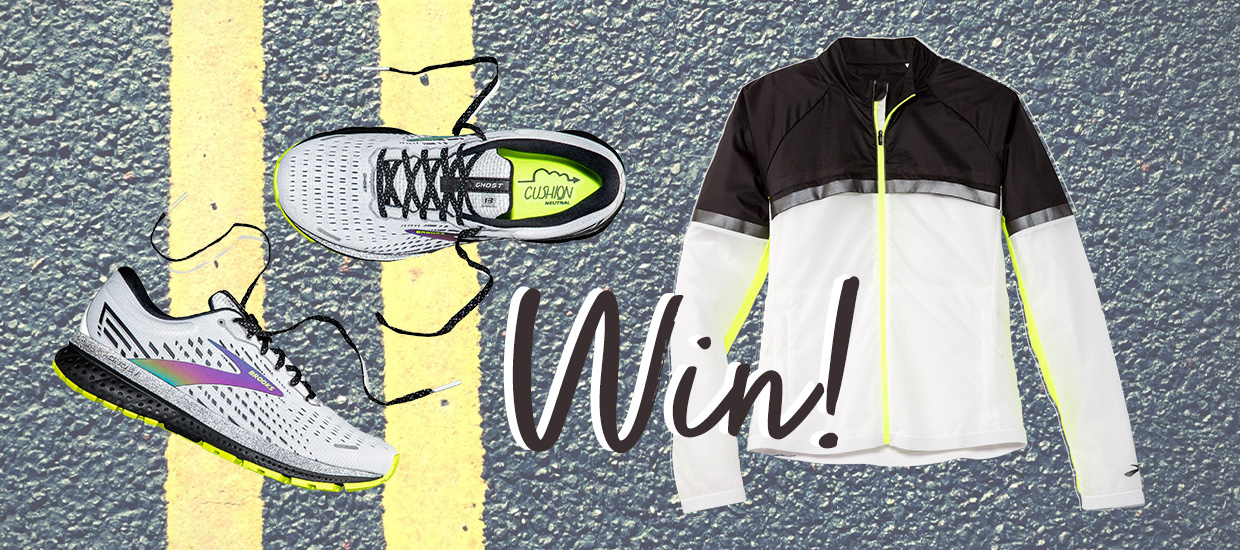 Win a whole Brooks Run Visible outfit, worth over £400