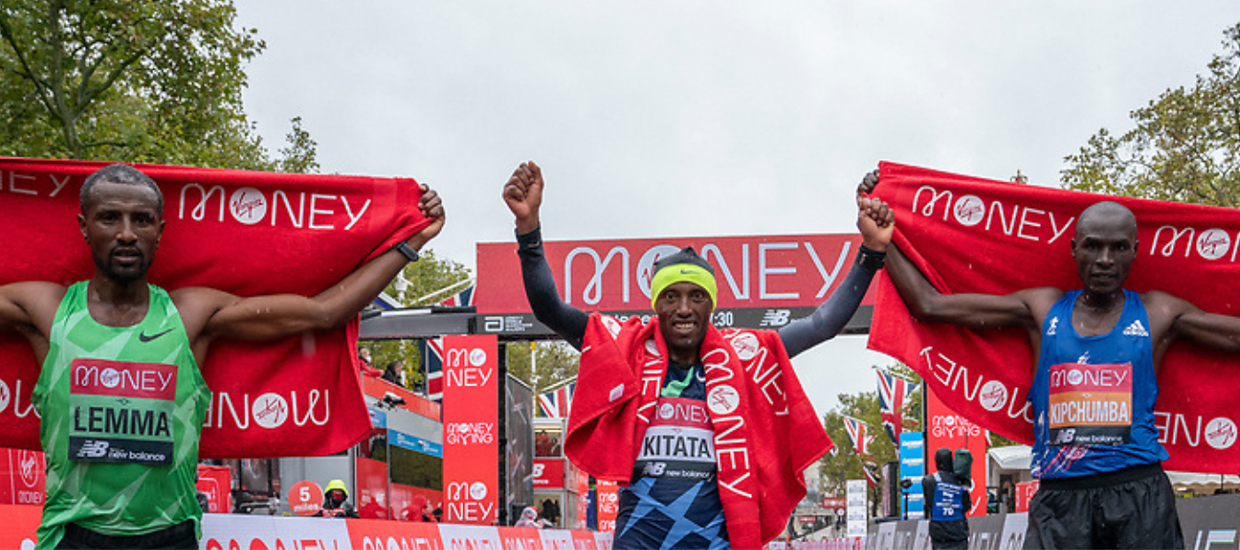 Men's elite race: Kitata claims surprise win as Kipchoge defeated for first time in 7 years