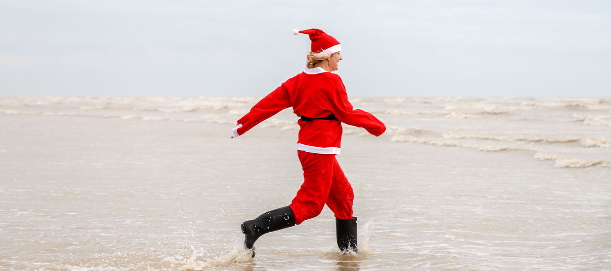 12 days of Christmas running challenges