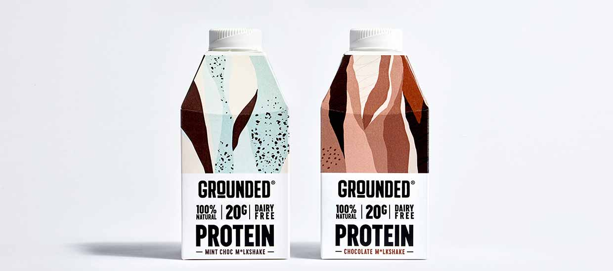 Win a month's supply of GROUNDED® plant-based protein shakes!