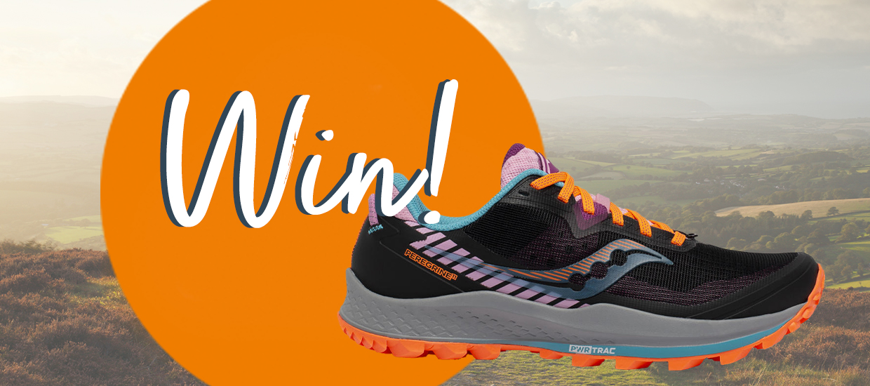 Win a pair of the new Saucony Peregrine 11 trail running shoes