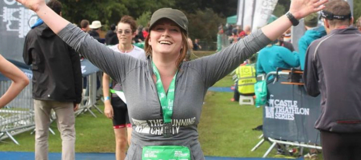 """""""Running helped me to see a positive future for myself"""""""