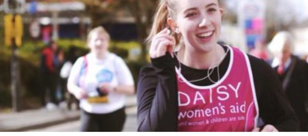 Join us to run 5K for our charity partner, Women's Aid