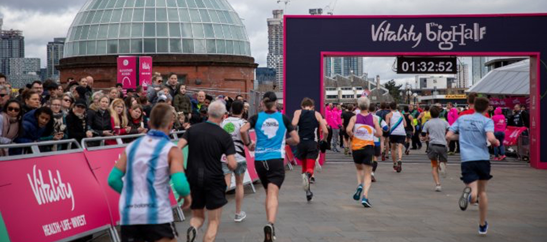 Vitality Big Half 2021 postponed until 22 August