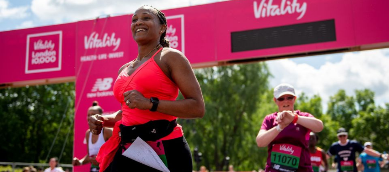 Run happy and healthy with this brilliant Vitality 10,000 training plan