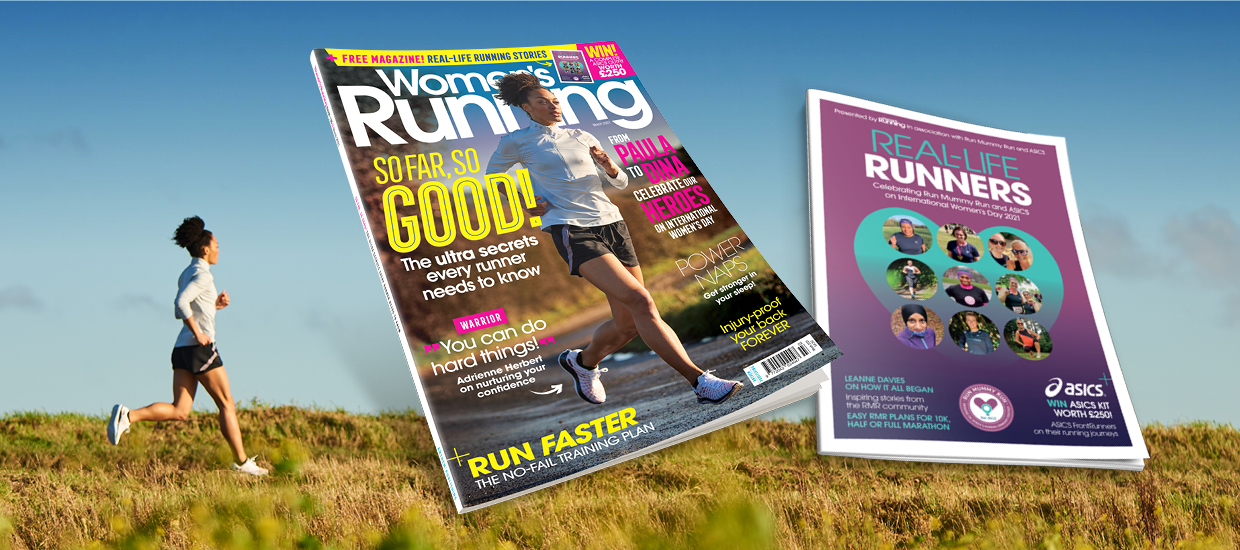 Inside the March issue of Women's Running