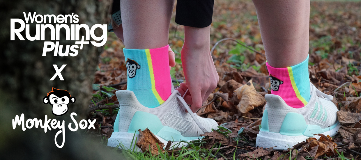 Women's Running Plus partners with Monkey Sox