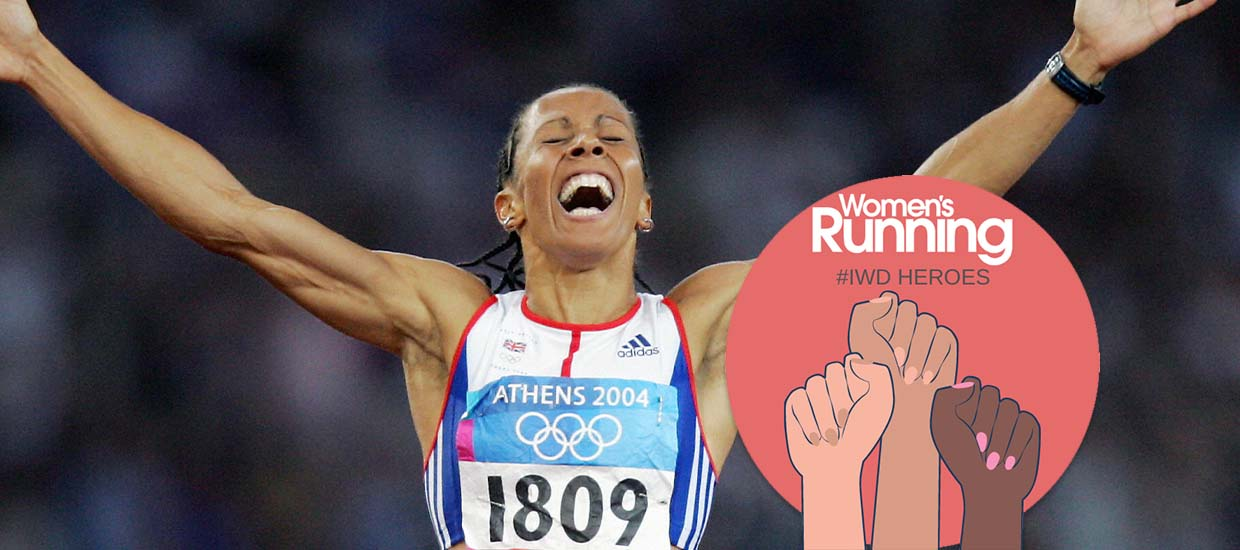 International Women's Day heroes: Dame Kelly Holmes
