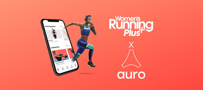 Women's Running Plus partners with Auro