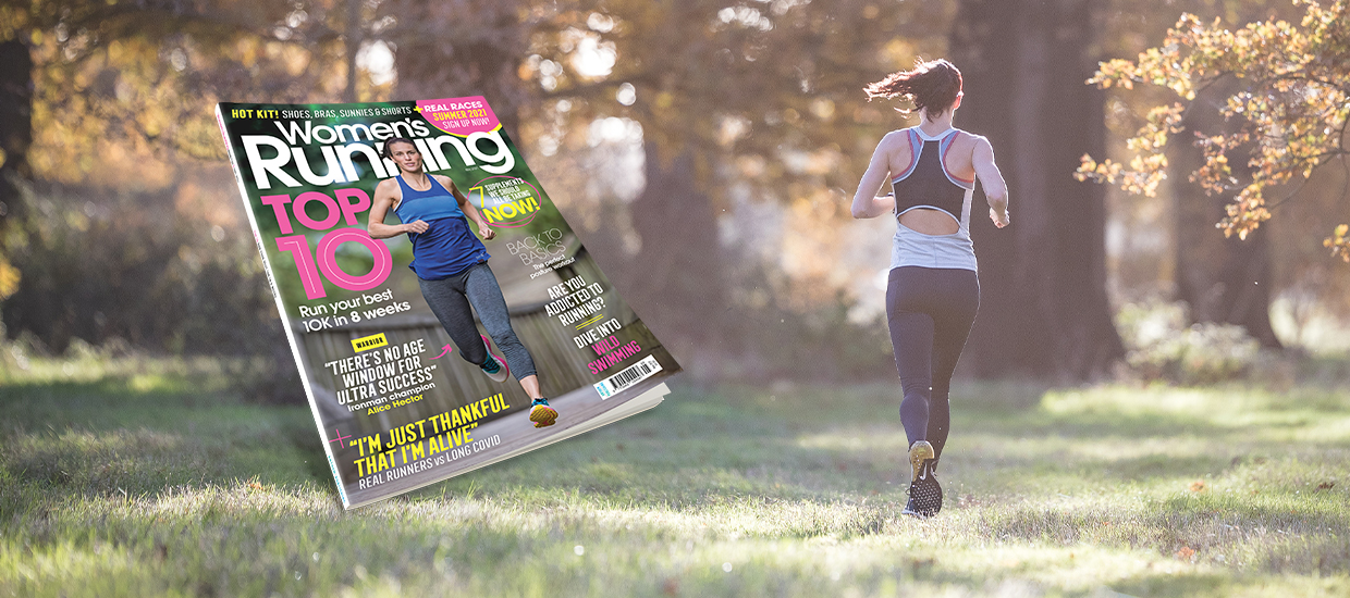 Inside the May issue of Women's Running