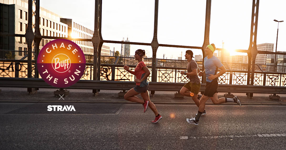 Celebrate the arrival of summer with the BUFF® running challenge