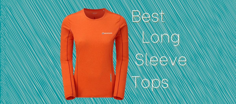 The best long-sleeved running tops