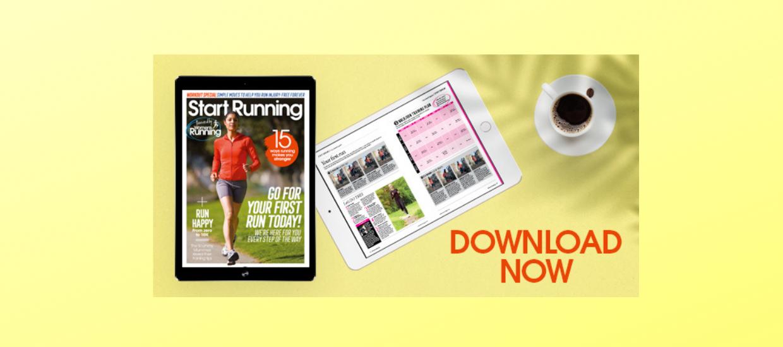 Free Start Running mini magazine