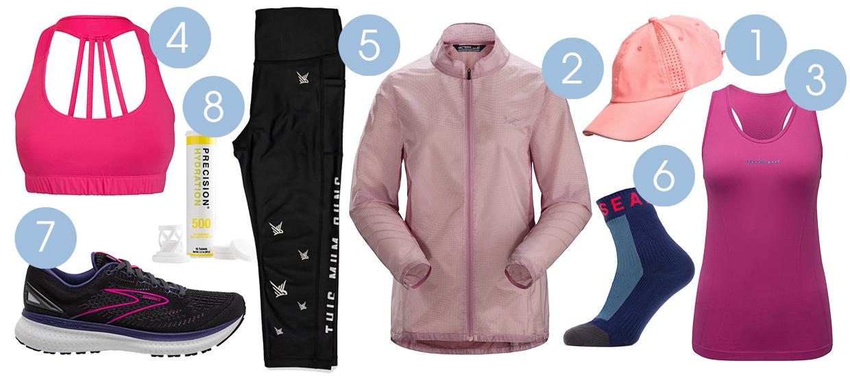 Essential women's running gear for summer