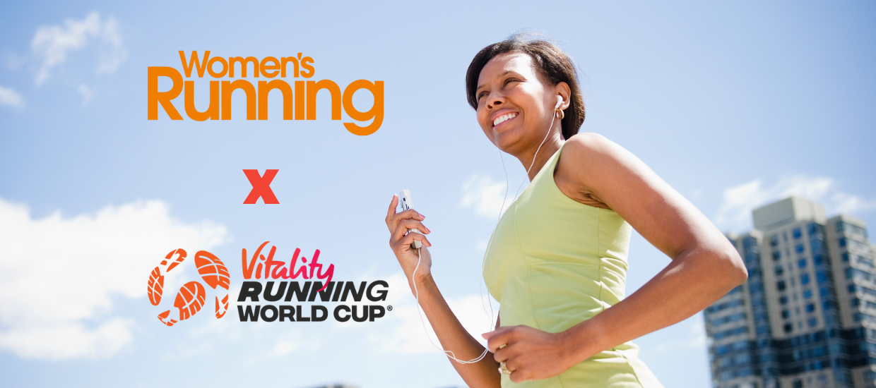 Run for your country with the Vitality Running World Cup