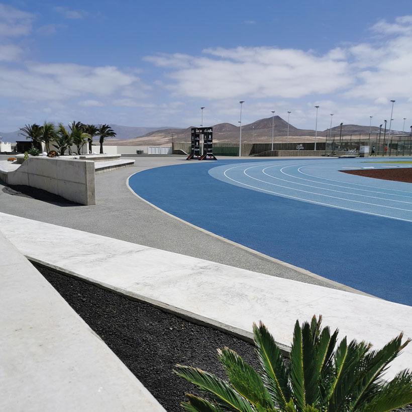 Club La Santa's race track