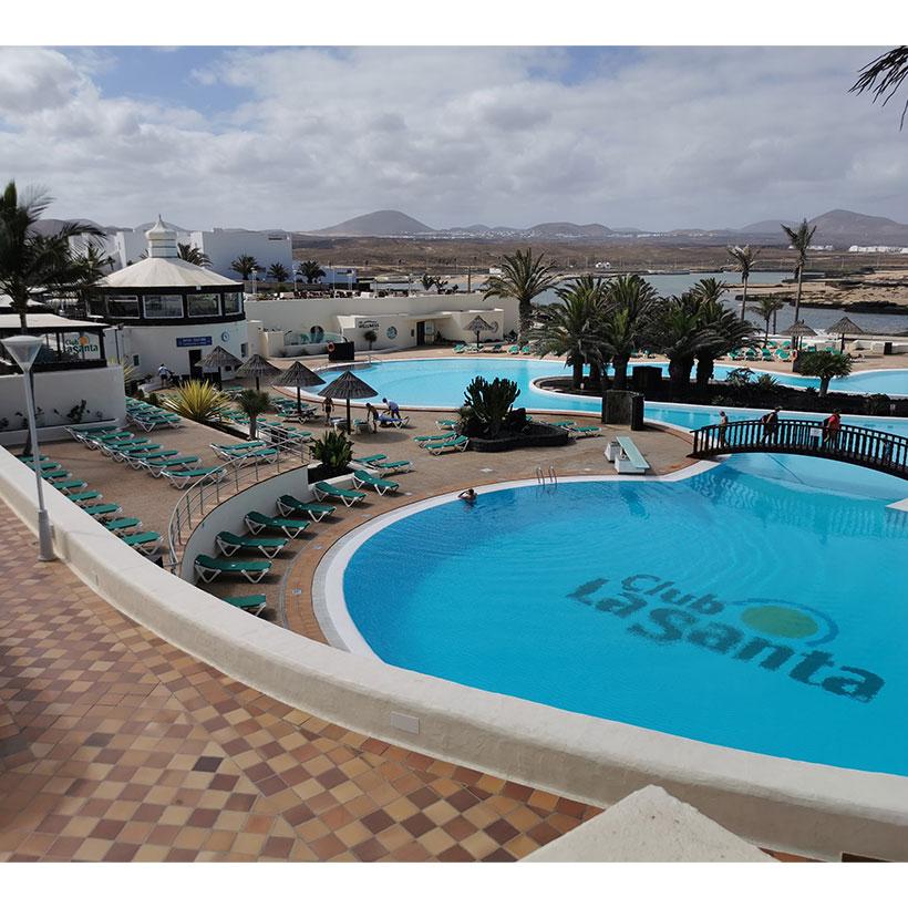 Club La Santa's leisure pool