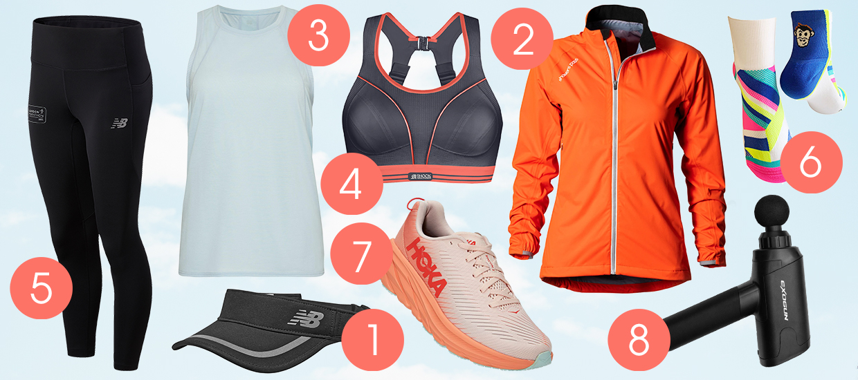 Essential women's running gear for autumn