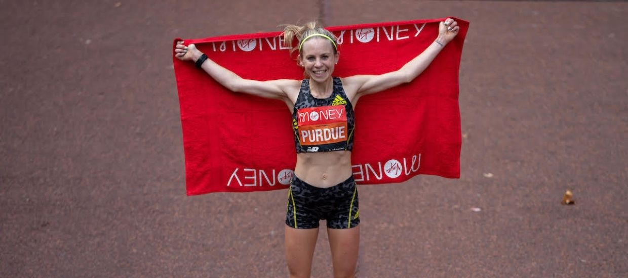 """""""I want to run the marathon in the next Olympics"""": Charlotte Purdue's journey to her incredible London Marathon race"""