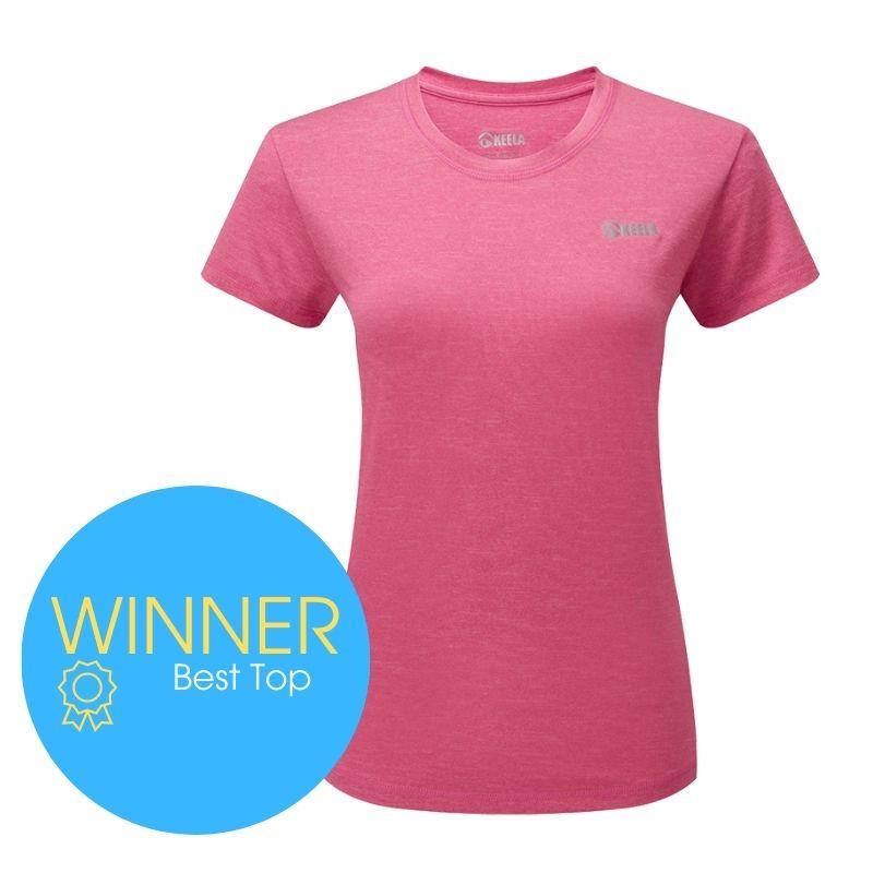 Award winner: Keela Women's ViralOff Short Sleeve Top