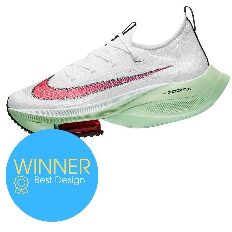 Award winner: Nike Air Zoom Alphafly Next %